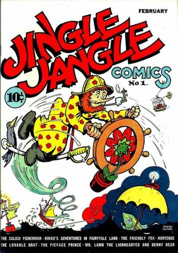Front cover of Jingle Jangle Comics #1
