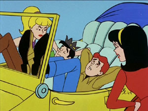 Archie and Jughead get a mouthful from Betty a...