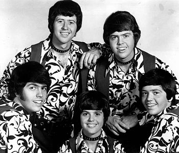 Publicity photo of the music group The Osmonds.