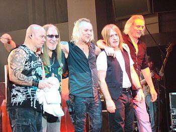 Uriah Heep in Milan, November 9, 2008
