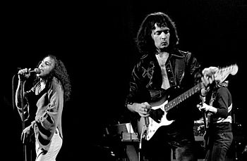 Ronnie James Dio and Ritchie Blackmore in Rain...